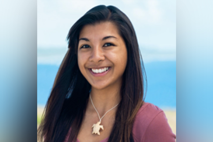 Leilani Sablan, who will be pursuing a master's in biology at the 关岛大学, is the recipient of a 2020-2021 U.S. Pacific Territories Fishery Capacity Building Scholarship.